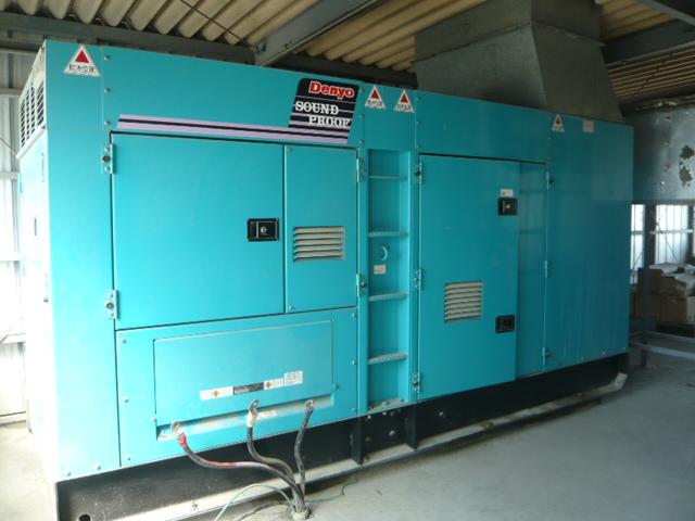 dự án sửa chữa máy phát điện ở công ty hùng thăng