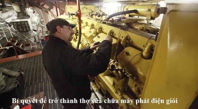 bảo dưỡng máy phát điện