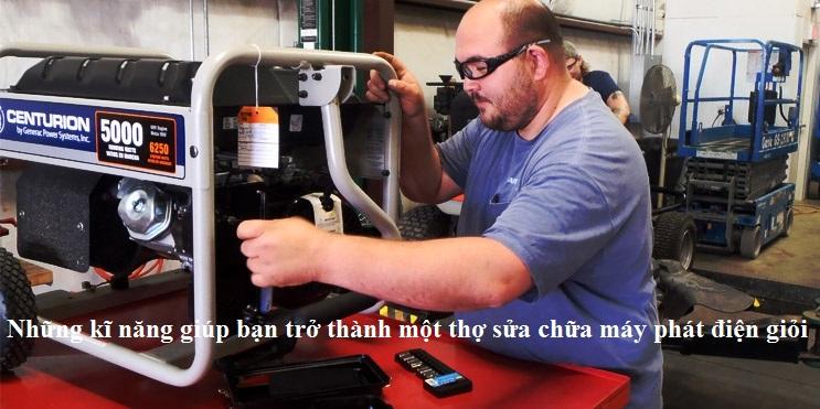 các yếu tố giúp bạn trở thành thợ sửa chữa máy phát điện giỏi