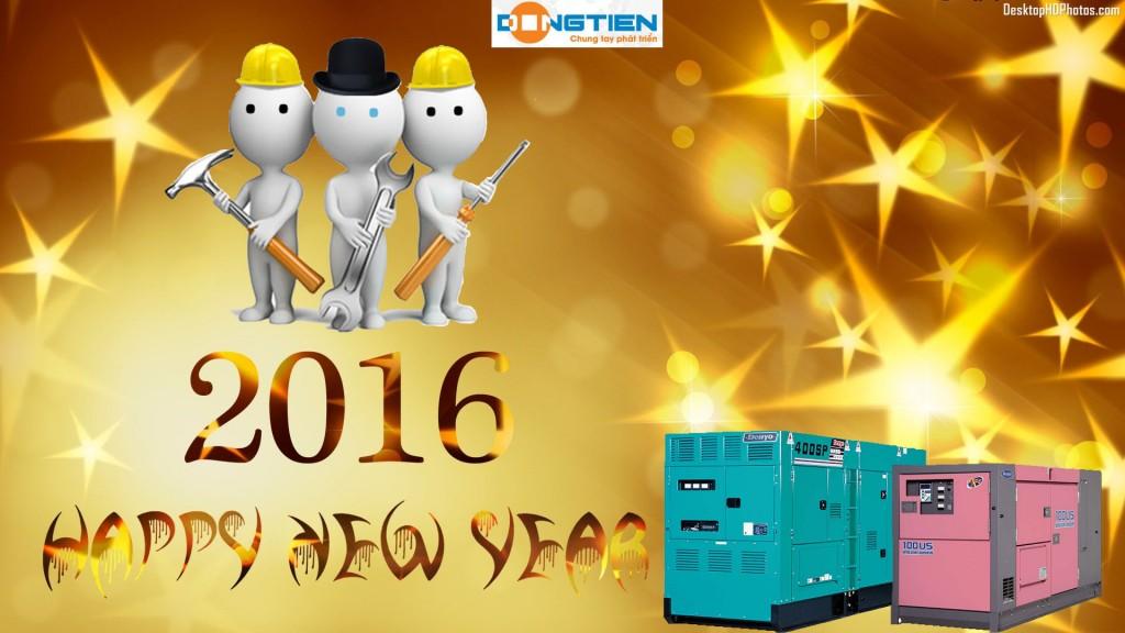 máy phát điện Đồng Tiến chúc mừng năm mới