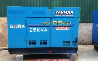 Máy phát điện Yanmar 25 kva